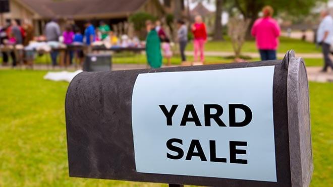 Successful Yard Sale
