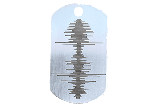 Soundwave Art Dog Tag