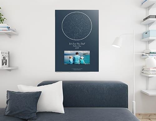 star map art