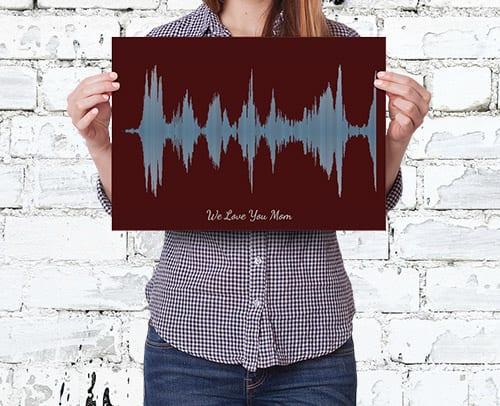 Soundwave Print