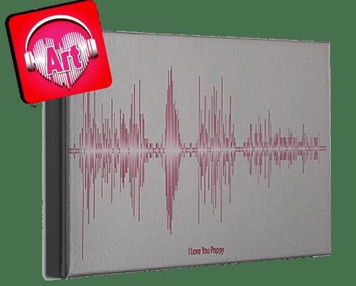 Soundwave Art - Canvas
